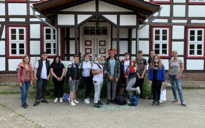 Ausflug zum Internationalen Schulbauernhof